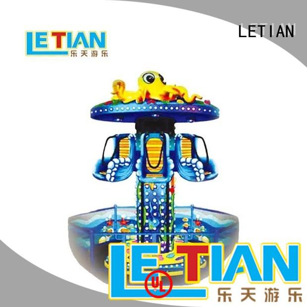 LETIAN hydraulic funfair equipment for sale playground