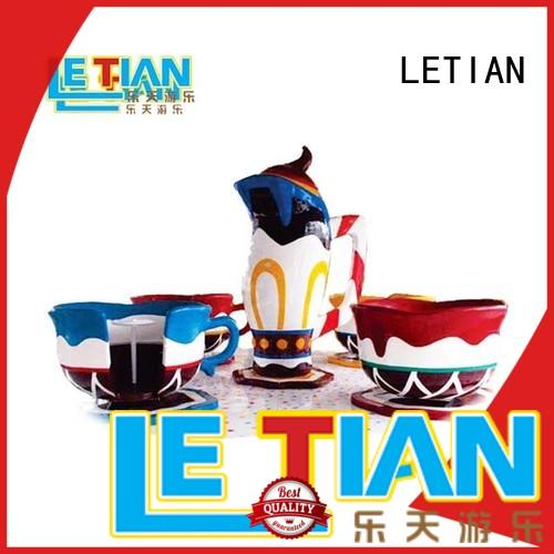 LETIAN coffee indoor amusement park facility entertainment