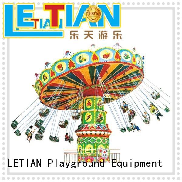 Modern amusement park 36 seats kids super flying swing chair lt-7054a