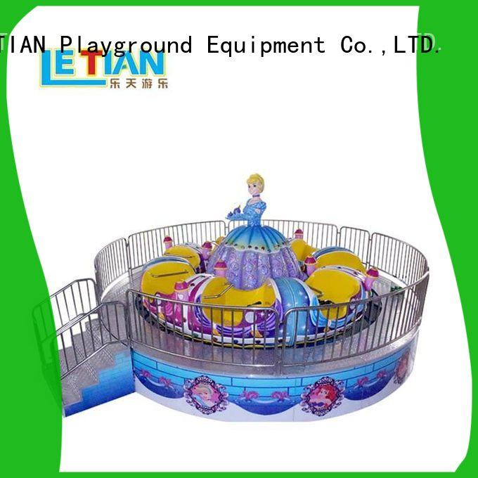 LETIAN electric spinning teacup ride factory entertainment