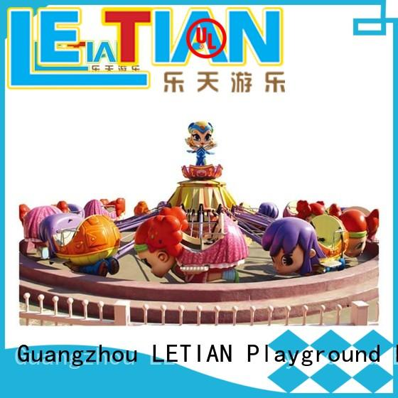 LETIAN safe funfair rides for kids playground