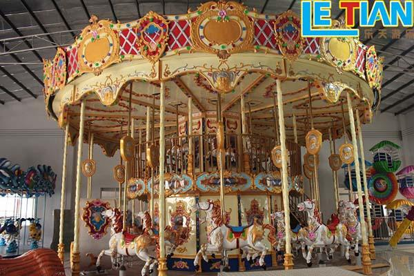 LETIAN kids carousel for kids supplier shopping centers-1