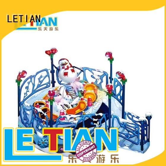 LETIAN jumping spinning teacups factory playground