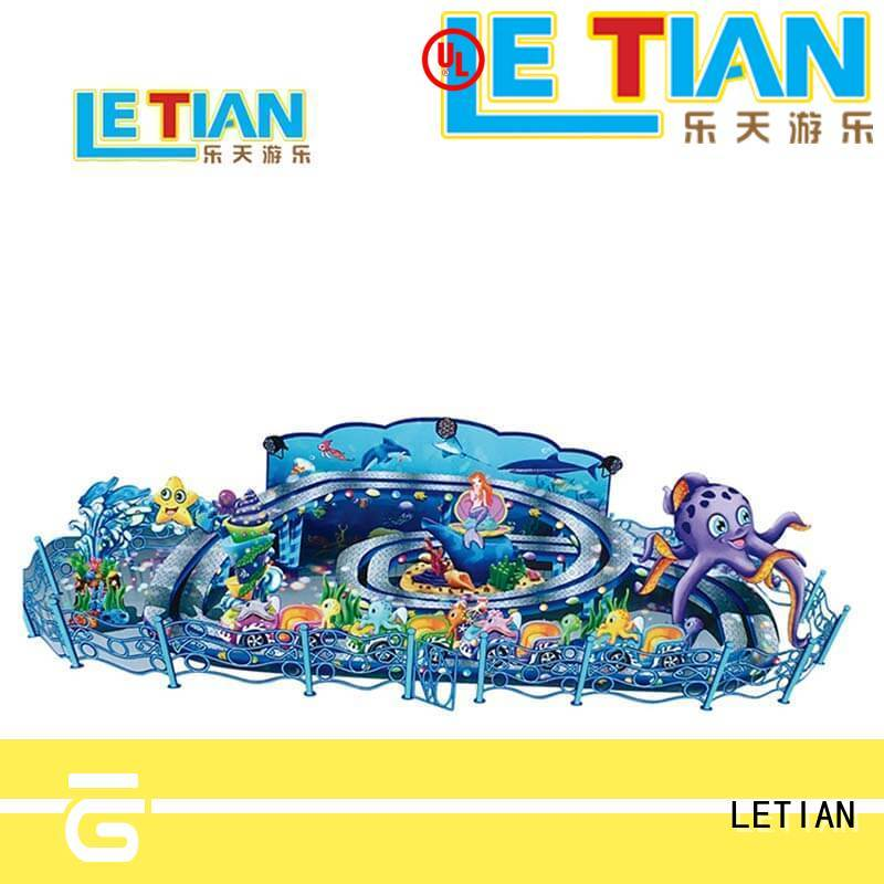 LETIAN 16 outdoor playground equipment factory playground