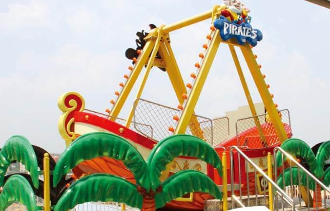 LETIAN interesting pirate ride for children theme park-1