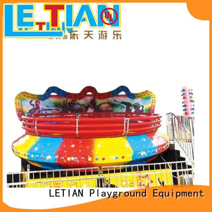 amusing cup ride funfair facility playground
