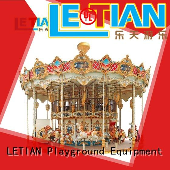 colorful amusement rides in china go customized theme park