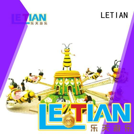 LETIAN safe disco rides for child playground