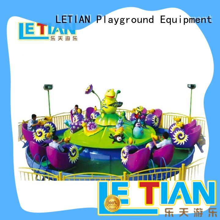 LETIAN seats cup ride supplier playground