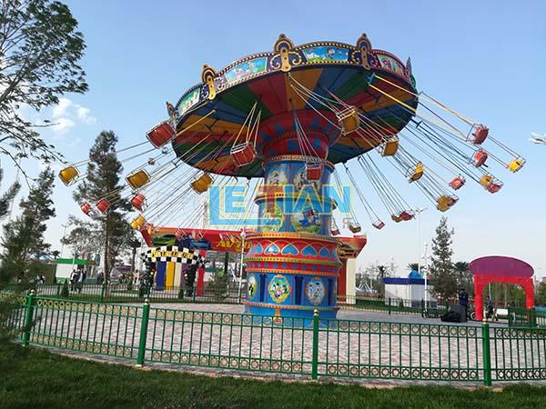 LETIAN fashionable chair swing ride customized theme park-3