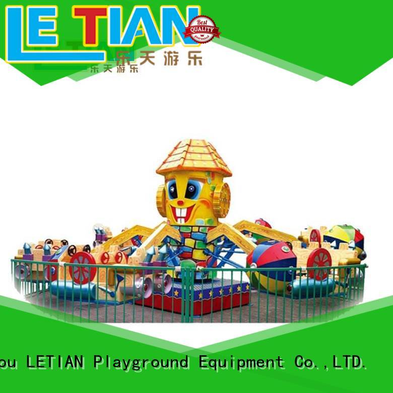 LETIAN Latest Rolling Plane Rides for kids theme park