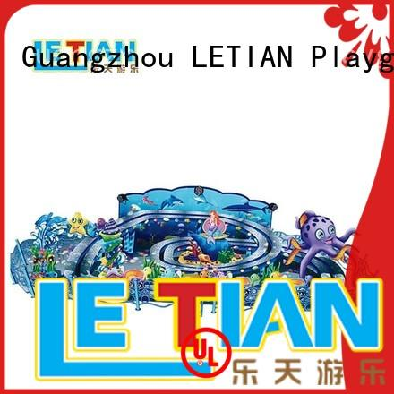 LETIAN amusement cup ride factory playground