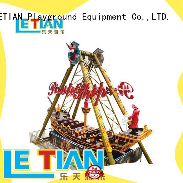 LETIAN frp pirate ship park tourists carnival