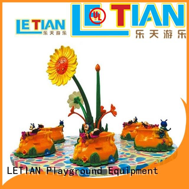 LETIAN rotating outdoor playground equipment supplier theme park