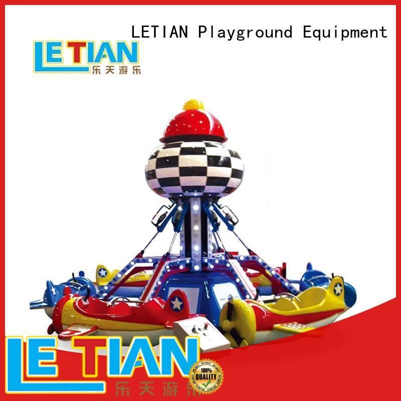 LETIAN crazy carnival rides for sale manufacturer life squares