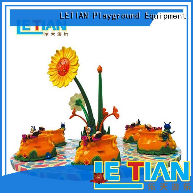 LETIAN electric cup ride factory playground