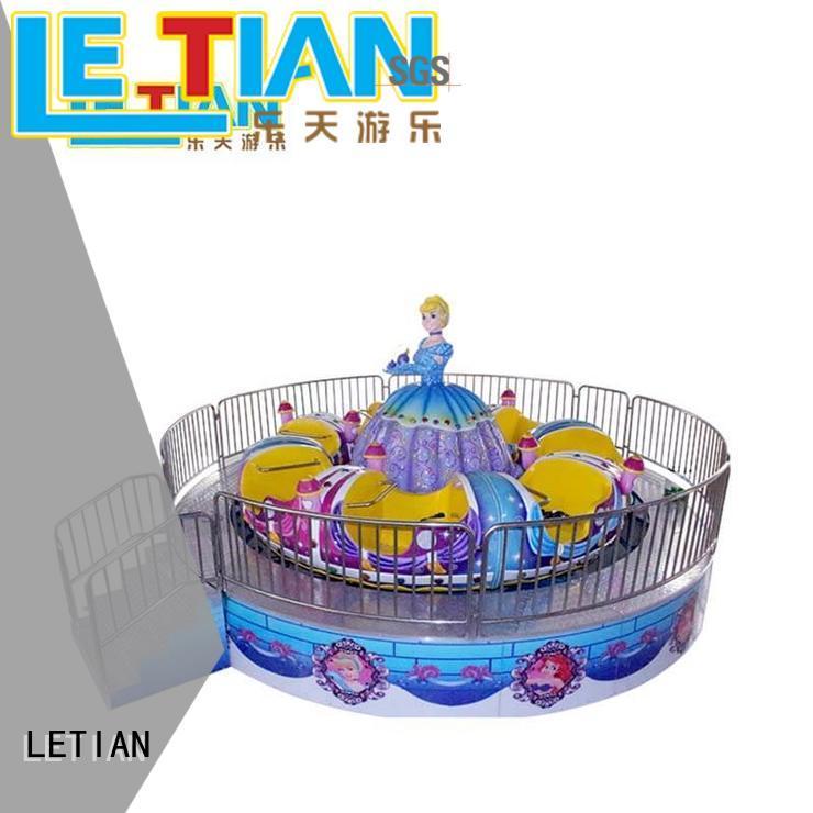 LETIAN amusing types of amusement park rides facility theme park
