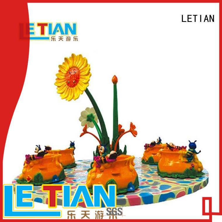 LETIAN climbing spinning teacups facility playground