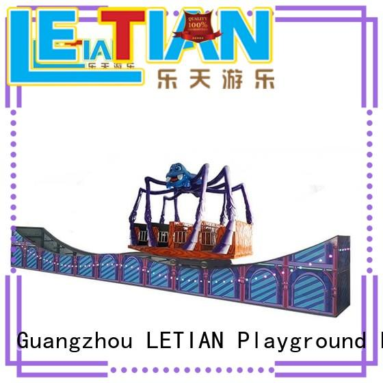 LETIAN outdoor childrens pirate ship large carnival