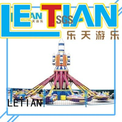 LETIAN stable disco rides