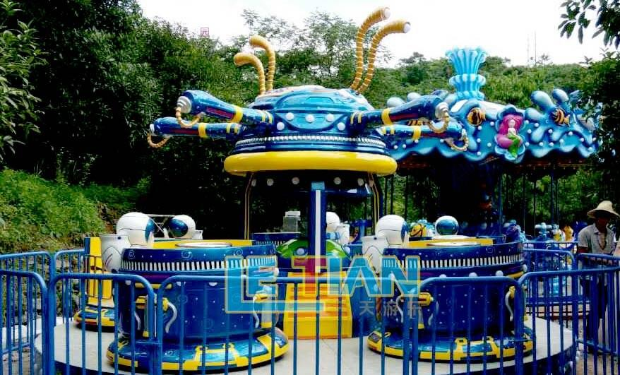LETIAN amusing outdoor playground equipment facility theme park-1