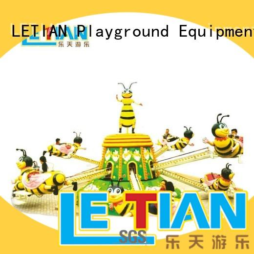 LETIAN professional disco rides for kids life squares