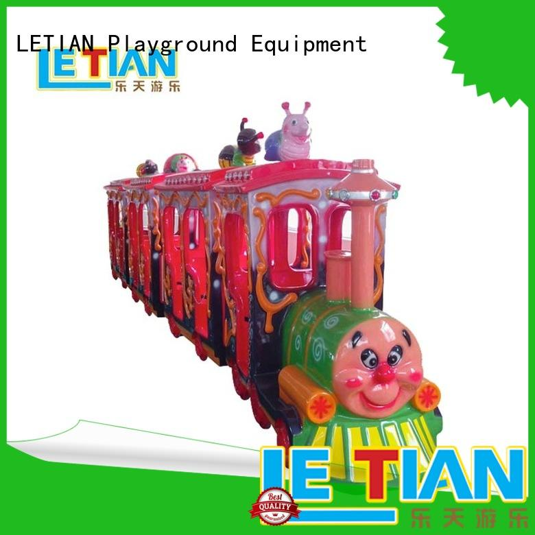 LETIAN electric trackless train China life squares