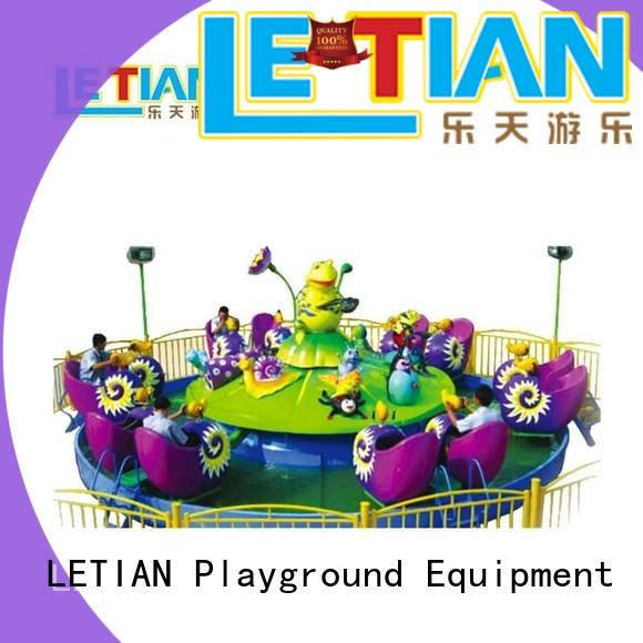 LETIAN climbing spinning teacups factory entertainment