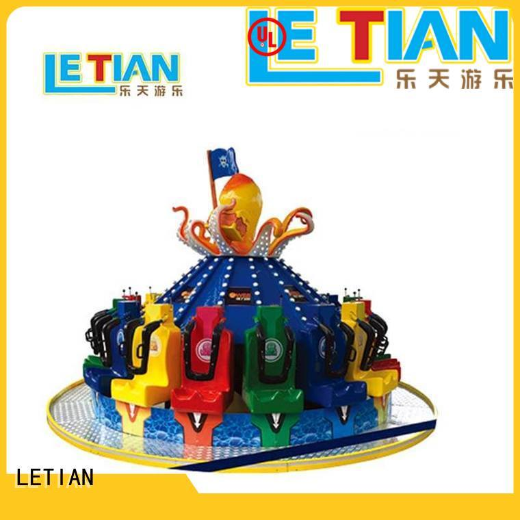 LETIAN electric spinning teacups factory entertainment