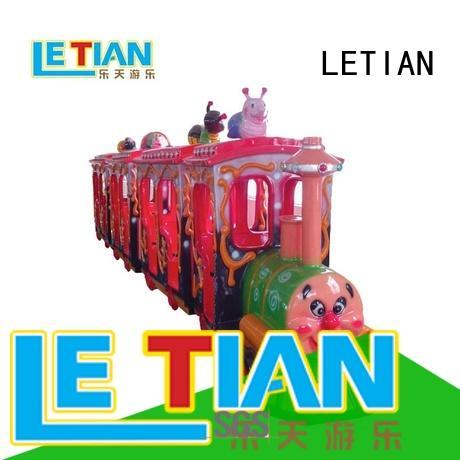 LETIAN lt7077a amusement train rides for business life squares