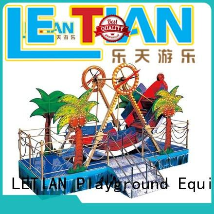 LETIAN games pirate ship ride student playground