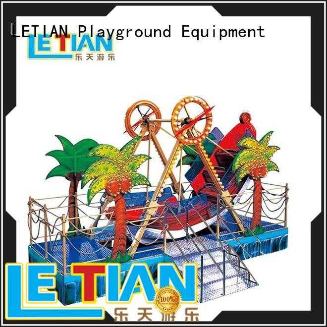 LETIAN entertaining pirate ship park for kids mall