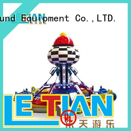 LETIAN aircraft(12 carnival rides for sale for child