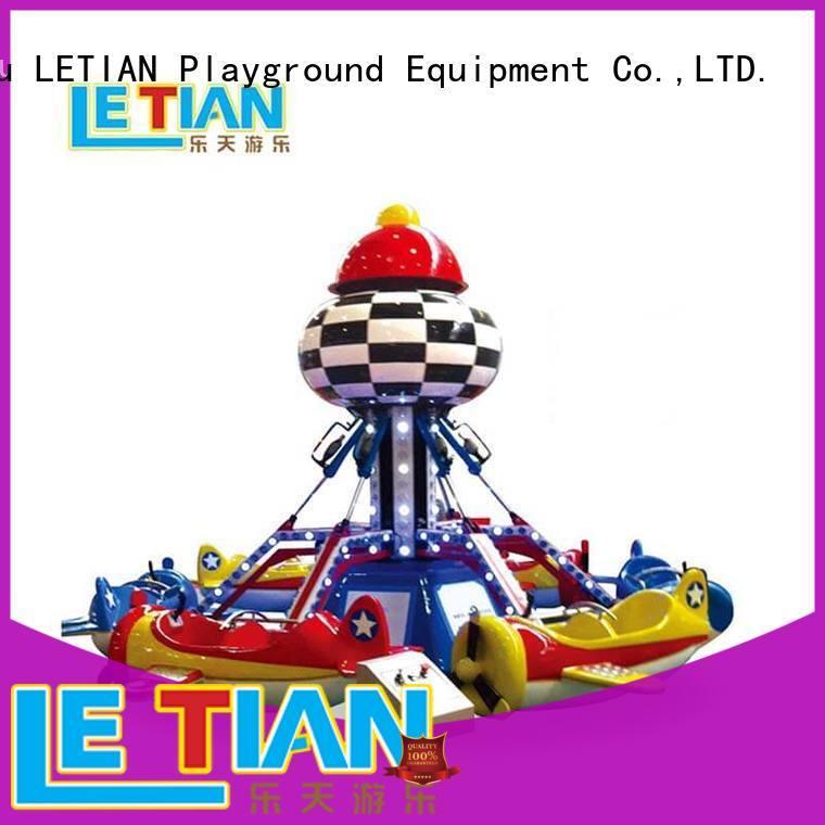 LETIAN Self-control Rolling Plane Rides manufacturer theme park