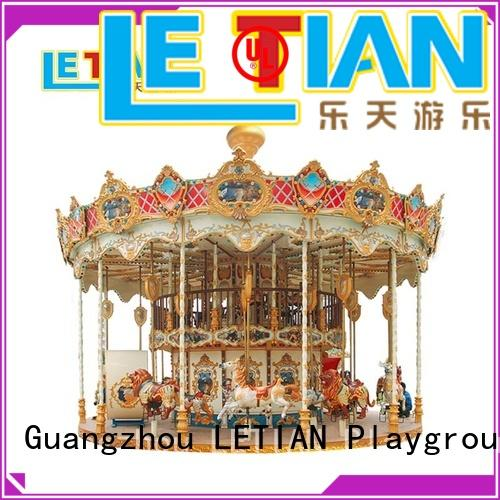 reinforced kids carousel for kids fairground
