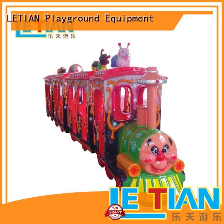 Latest amusement park train rides lt7083b factory life squares
