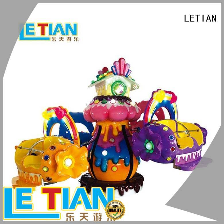 LETIAN disco rides manufacturer playground
