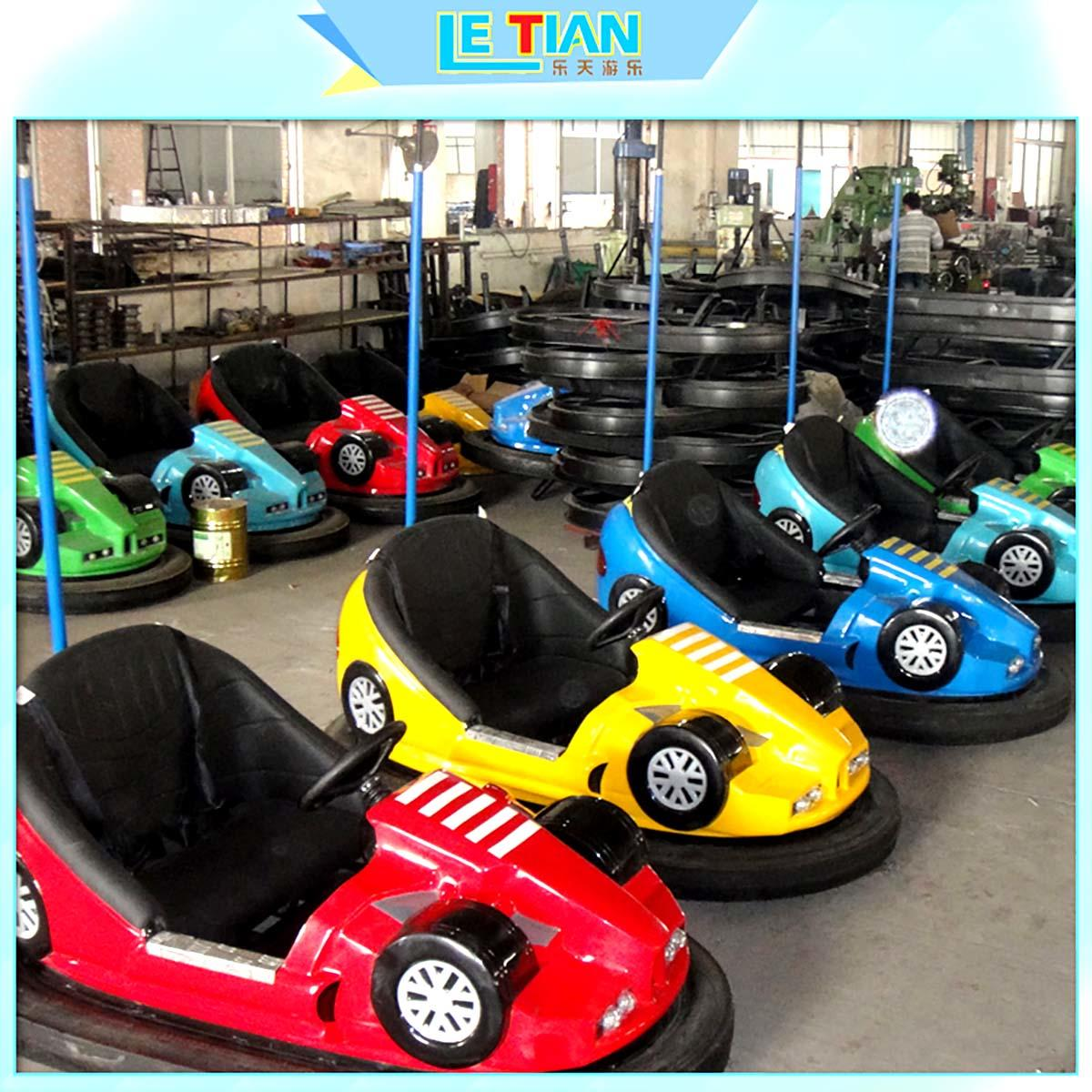 antenna kids bumper cars for sale zoo LETIAN-2