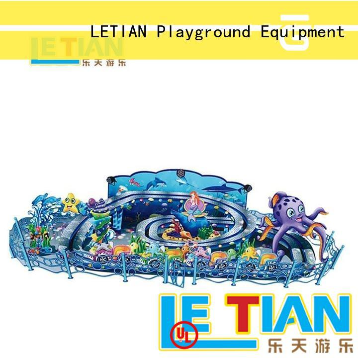 LETIAN snail spinning teacups facility entertainment