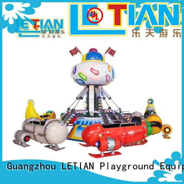 LETIAN Best common carnival rides factory life squares