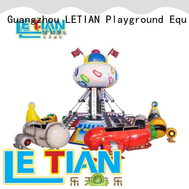 LETIAN amusing adventure playground equipment selfcontrol park