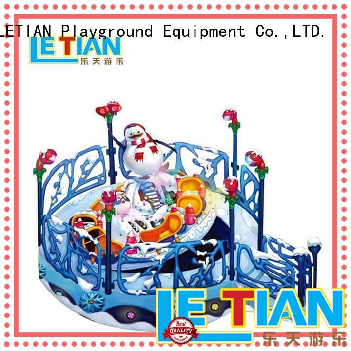 LETIAN amusing kids playground equipment facility playground