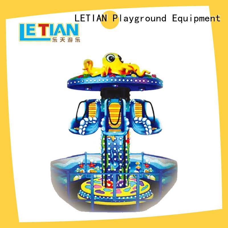 LETIAN Latest new carnival rides for kids life squares