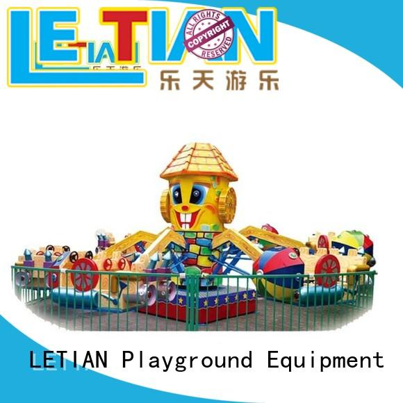 LETIAN real fairground rides manufacturer life squares
