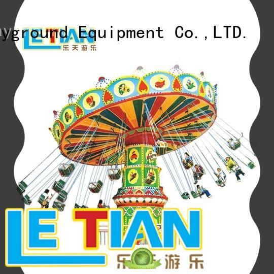 LETIAN children flying swing manufacturer zoo