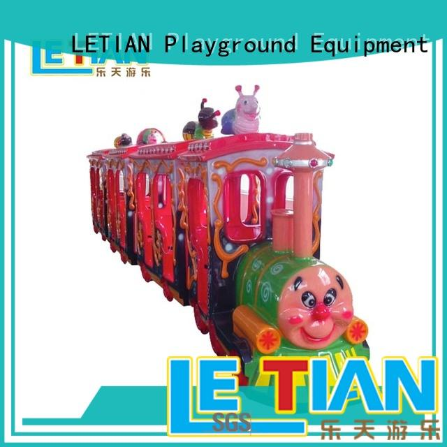 LETIAN electric trackless train China children's palace