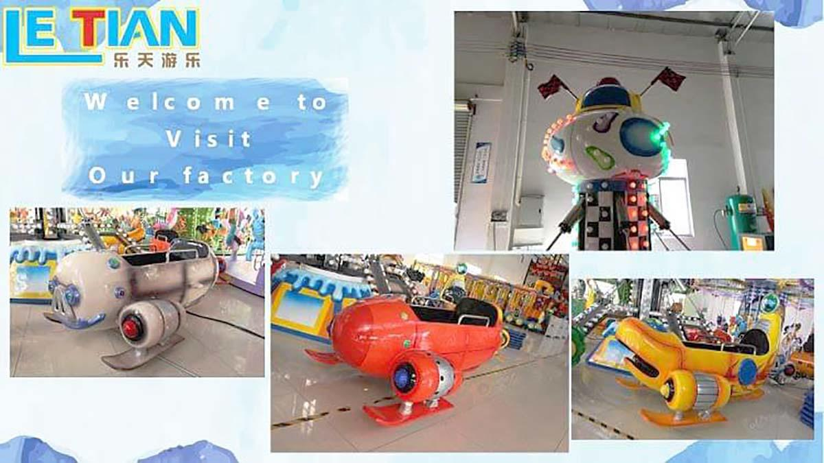 LETIAN rolling funfair rides for business children's palace-3