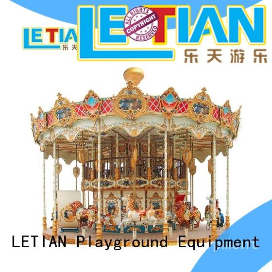 LETIAN Best amusement rides in china customized theme park