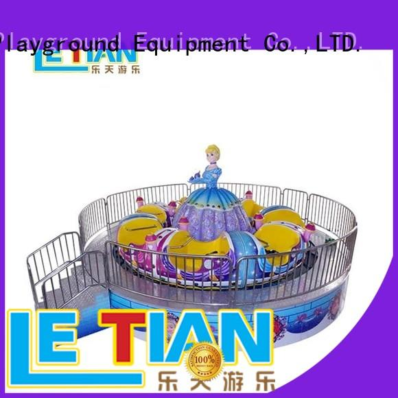 LETIAN rotating amusement park rides facility entertainment