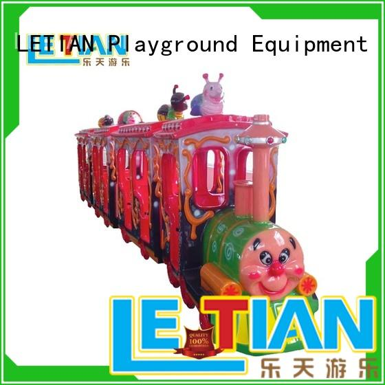 LETIAN small train amusement park for business park playground